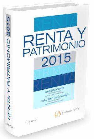 RENTA Y PATRIMONIO 2015