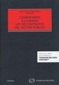 COMENTARIOS A LA NUEVA LEY DE CONTRATOS DEL SECTOR PÚBLICO (PAPEL + E-BOOK)