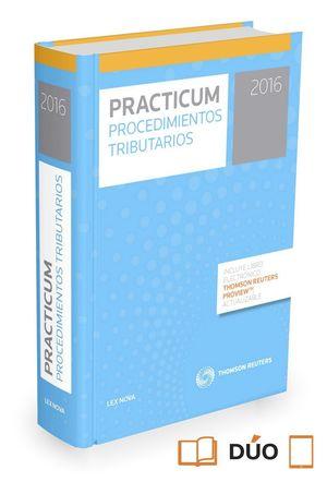 PRACTICUM PROCEDIMIENTOS TRIBUTARIOS 2016