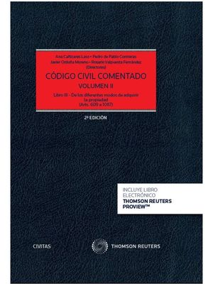 CODIGO CIVIL COMENTADO VOLUMEN II