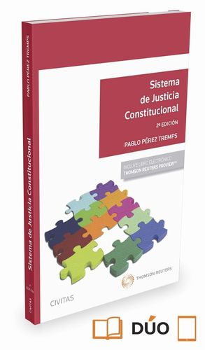 SISTEMA DE JUSTICIA CONSTITUCIONAL 2ªED. 2016 (PAPEL + E-BOOK)