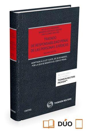 TRATADO DE RESPONSABILIDAD PENAL DE PERSONAS JURIDICAS 2ªED.2016