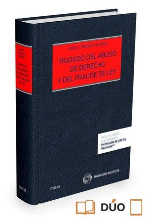 TRATADO DEL ABUSO DE DERECHO Y DEL FRAUDE DE LEY (PAPEL + E-BOOK)