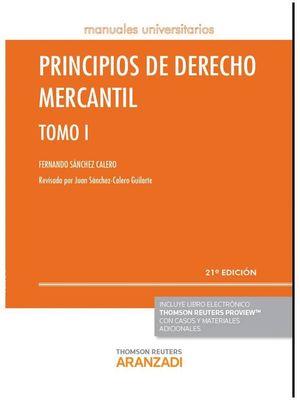 PRINCIPIOS DE DERECHO MERCANTIL - TOMO I (PAPEL+E-BOOK)