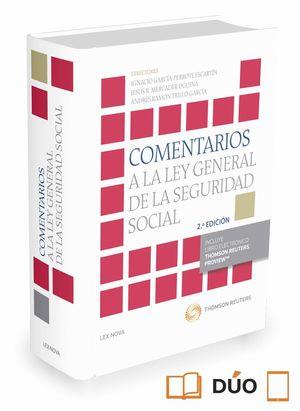 COMENTARIOS A LA LEY GENERAL DE LA SEGURIDAD SOCIAL