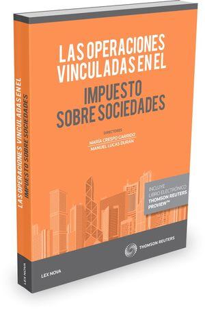 LAS OPERACIONES VINCULADAS EN EL IMPUESTO SOBRE SOCIEDADES