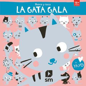 LA GATA GALA. BUSCA Y TOCA