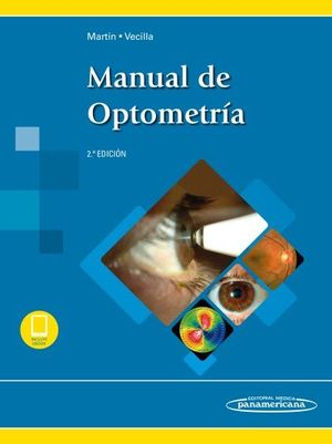MARTIN:MANUAL DE OPTOMETR?A,2» ED.+E