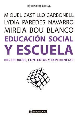 EDUCACION SOCIAL Y ESCUELA