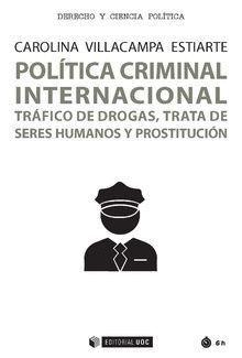 POLÍTICA CRIMINAL INTERNACIONAL