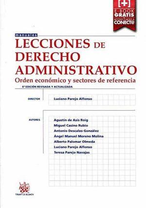 LECCIONES DE DERECHO ADMINISTRATIVO 6ª EDICION 2015