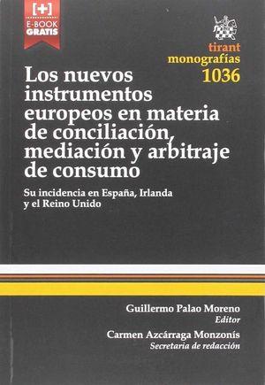 LOS NUEVOS INSTRUMENTOS EUROPEOS EN MATERIA DE CONCILIACION,
