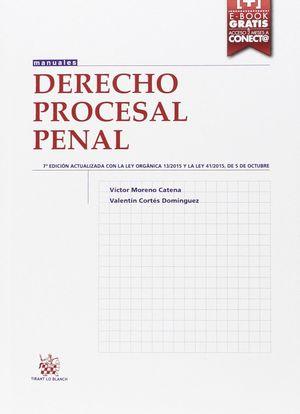 DERECHO PROCESAL PENAL 7ª EDICION 2015
