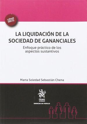 LIQUIDACION DE LA SOCIEDAD DE GANANCIALES