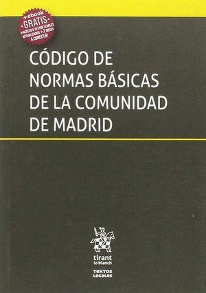 CODIGO DE NORMAS BASICAS DE LA COMUNIDAD DE MADRID