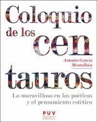 COLOQUIO DE LOS CENTAUROS