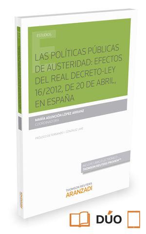 LAS POLÍTICAS PÚBLICAS DE AUSTERIDAD
