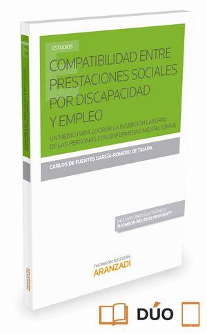 COMPATIBILIDAD ENTRE PRESTACIONES SOCIALES POR DISCAPACIDAD