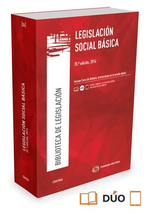 LEGISLACION SOCIAL BASICA (35ª ED.) 2016
