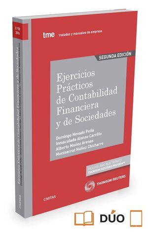 EJERCICIOS PRACTICOS DE CONTABILIDAD FINANCIERA Y DE SOCIEDADES