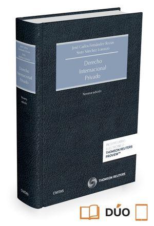 DERECHO INTERNACIONAL PRIVADO (PAPEL + E-BOOK)