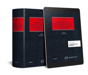 COMENTARIO A LA LEY DE TRANSPARENCIA, ACCESO A LA INFORMACIÓN PÚBLICA Y BUEN GOB