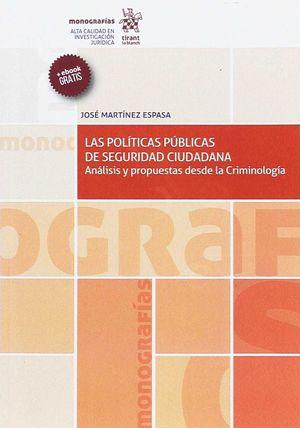 LAS POLÍTICAS PÚBLICAS DE SEGURIDAD CIUDADANA