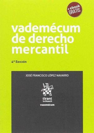 VADEMÉCUM DE DERECHO MERCANTIL 4ª EDICIÓN 2017
