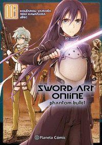 SWORD ART ONLINE PHANTOM BULLET Nº 03/03 (MANGA)