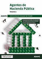 AGENTES DE HACIENDA PÚBLICA TEMARIO 1 (2018) ADMINISTRACION GENERAL DEL ESTADO
