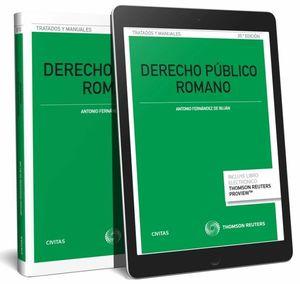 DERECHO PÚBLICO ROMANO (PAPEL + E-BOOK)