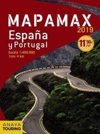 MAPA ESPAÑA PORTUGAL MAPAMAX 2019