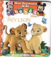 REY LEON  MINI DICCIONARIO DE LOS BEBES DISNEY