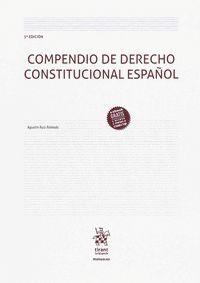 COMPENDIO DE DERECHO CONSTITUCIONAL ESPAÑOL