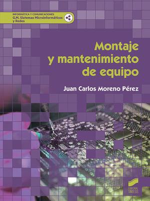 MONTAJE Y MANTENIMIENTO DE EQUIPO