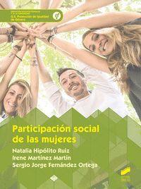 PARTICIPACIÓN SOCIAL DE LAS MUJERES