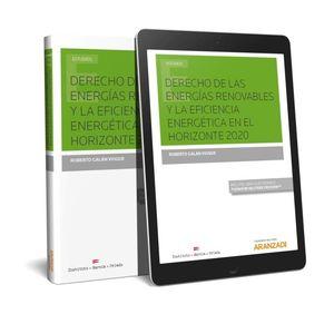 DERECHO DE LAS ENERGÍAS RENOVABLES Y LA EFICIENCIA ENERGÉTICA EN EL HORIZONTE 20