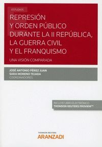REPRESIÓN Y ORDEN PÚBLICO DURANTE LA II REPÚBLICA, LA GUERRA CIVIL Y EL FRANQUISMO