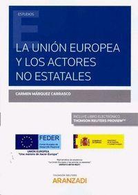 UNION EUROPEA Y LOS ACTORES NO ESTATALES