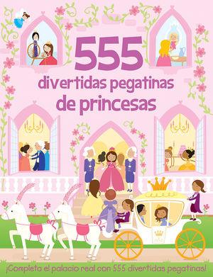 555 DIVERTIDAS PEGATINAS DE PRINCESAS