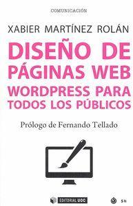 DISEÑO DE PAGINAS WEB WORDPRESS PARA TODOS LOS PUBLICOS
