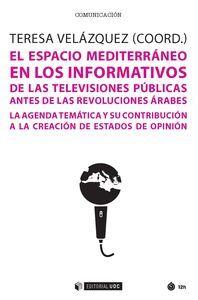 EL ESPACIO MEDITERRÁNEO EN LOS INFORMATIVOS DE LAS TELEVISIONES PÚBLICAS ANTES D