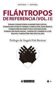 FILÁNTROPOS DE REFERENCIA (VOL.II)