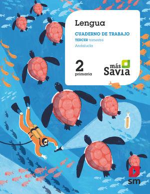 LENGUA 2 ED. PRIMARIA MÁS SAVIA (TRIM.) ANDALUCÍA 2019