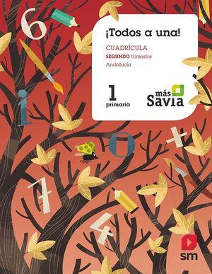 TODOS A UNA!. 1 EP SEGUNDO TRIMESTRE. CUADRÍCULA SAVIA 19