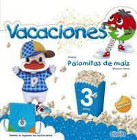 CUADERNO DE VACACIONES PALOMITAS DE MAÍZ 3 AÑOS
