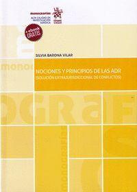 NOCIONES Y PRINCIPIOS DE LAS ADR