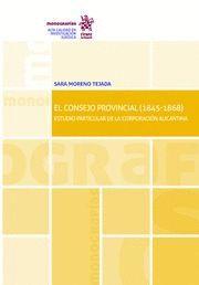 EL CONSEJO PROVINCIAL (1845-1868)