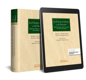 LAS PAREJAS DE HECHO Y DE DERECHO (PAPEL + E-BOOK)