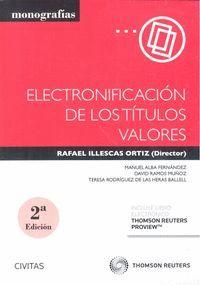 ELECTRONIFICACIÓN DE LOS TÍTULOS VALORES